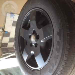 Roue occasion  0' LAND ROVER DISCOVERY pneu TOYO  dpt 81